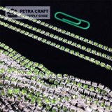 DMChain-2.8mm-Green-Silver-petracraft