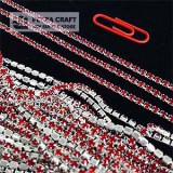 DMChain-2.8mm-red-silver-petracraft