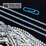 DMChain-2.8mm-sky-Silver-petracraft