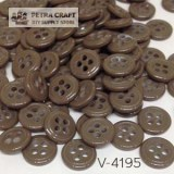 venus-button-brown-8057-petracraft