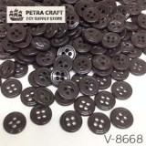 venus-button-brown-8668-petracraft
